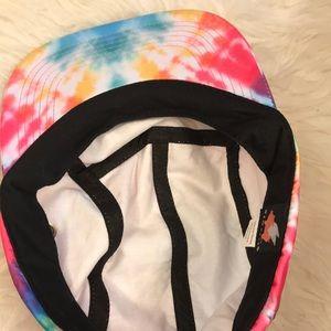 glmrklls Accessories - GLMR KLLS Tie Dye adjustable PARTY HAT NWT.